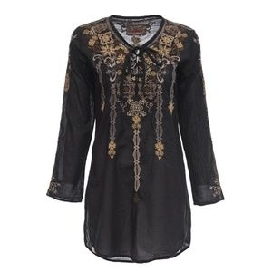 BIYA Johnny Was Long Sleeve Tunic